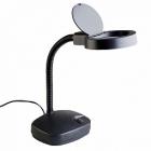Лупа - лампа с подсветкой Veber 8611 3D, 3дптр, 86 мм, черная