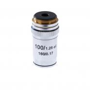 Объектив для микроскопа 100х/1,25ми 160/0,17 (М1)
