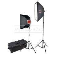 Комплект галогеновых осветителей Falcon Eyes DTR-kit