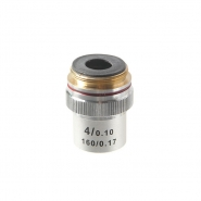Объектив для микроскопа 4х /0.1 160/0,17