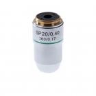 Объектив для микроскопа 20х/0,4 SP 160/0,17