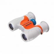 Бинокль детский Veber Эврика 6x21 серый/оранжевый