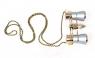 Бинокль Levenhuk Broadway 325F (серебряный, с подсветкой и цепочкой) (17781)