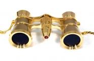 Бинокль Levenhuk Broadway 325F (золотой, с подсветкой и цепочкой)