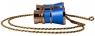 Театральный бинокль с цепочкой Levenhuk Broadway 325C Blue Wave