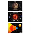 Комплект постеров Levenhuk «Космос», пакет