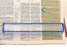 Лупа для чтения Veber 7514, 3x, 250x38 мм