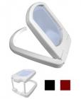Лупа настольная и нашейная 3.0x складная прямоугольная с подсветкой для чтения и рукоделия (3 LED) Kromatech TH-3001
