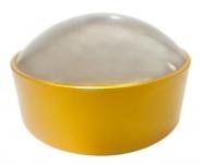 Лупа без ручки 10х-50мм в желтой оправе Kromatech