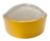 Лупа без ручки 10х-60мм в желтой оправе Kromatech