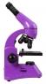 Микроскоп Levenhuk Rainbow 50L PLUS Amethyst\Аметист